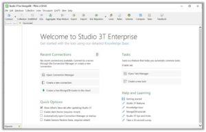 Studio 3T User Interface