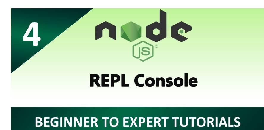 REPL Console in Node.js