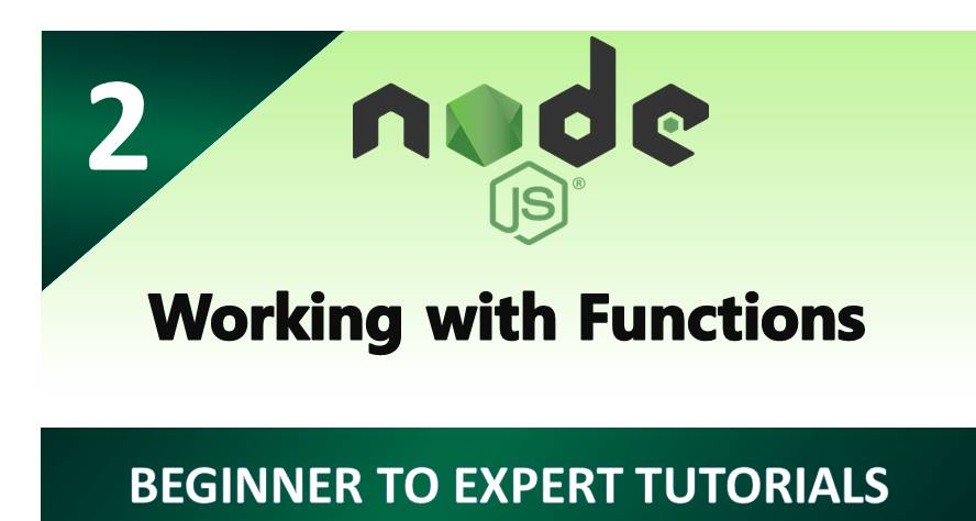 Node.js – Working with Functions