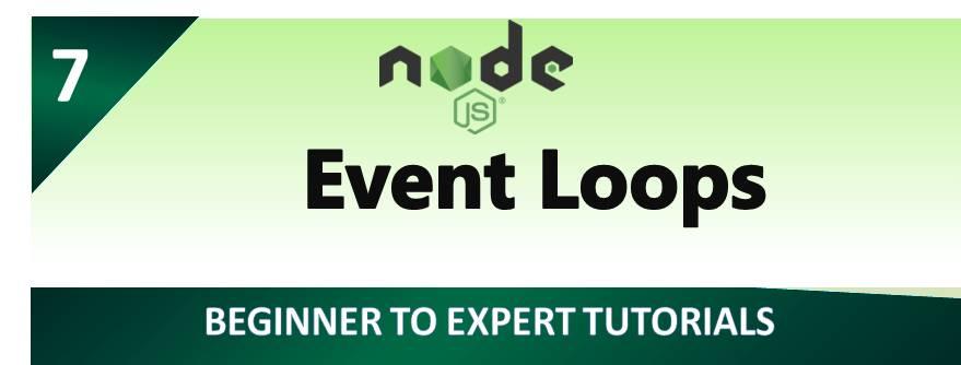 Node.js – Event Loops