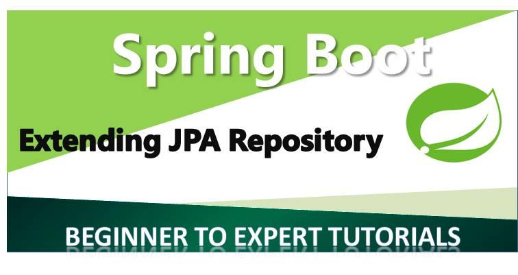 Extending JPA Repository