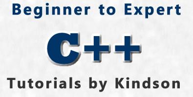 C++ Tutorials By Kindson