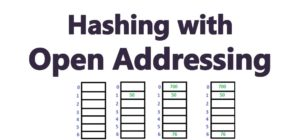 Hashing With Open Addressing
