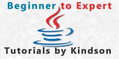 Java Tutorials By Kindson
