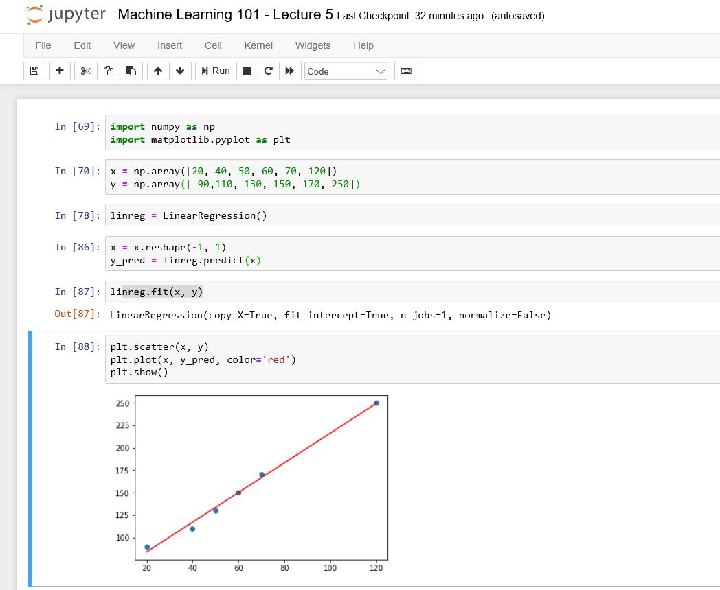 Linear Regression for Machine Learning 101 Lecture 5