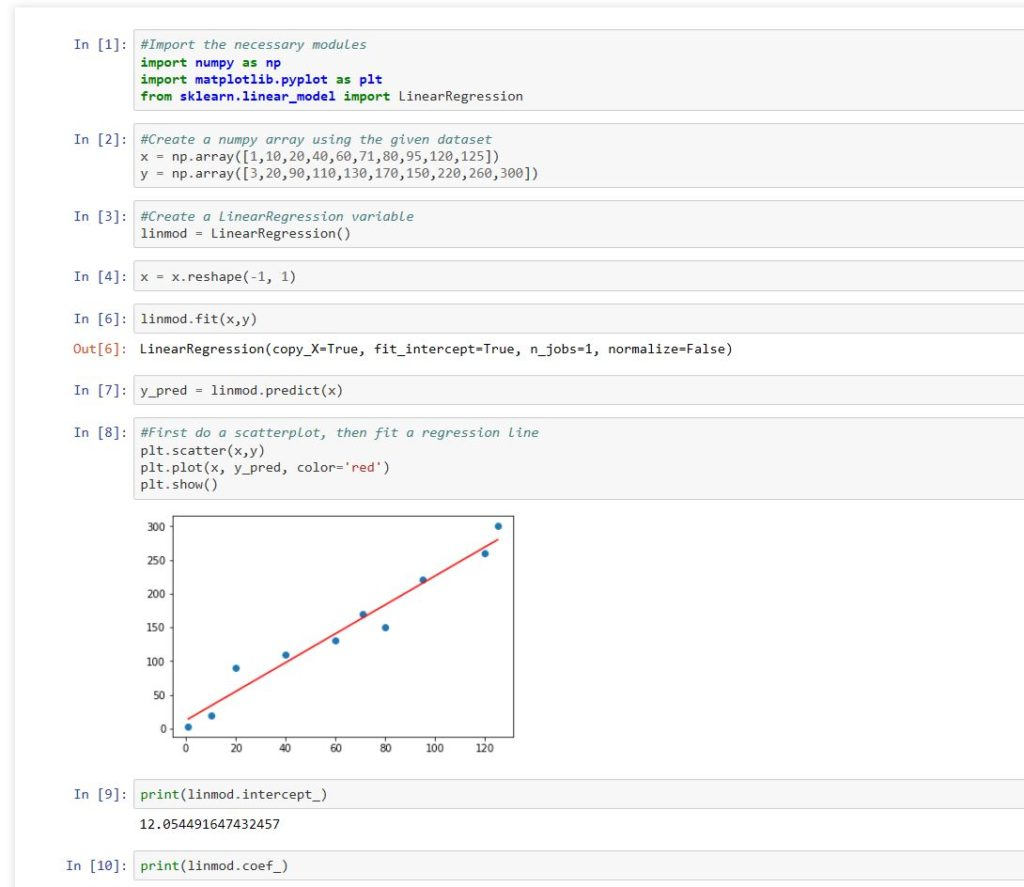 Linear Regression in Python