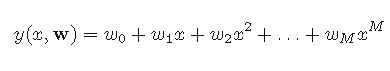 Polynomial Curve Fitting Equation