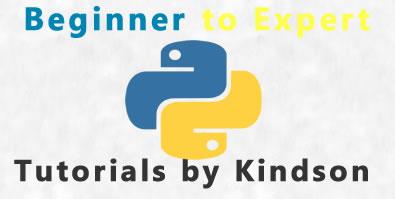 Python Tutorials By Kindson
