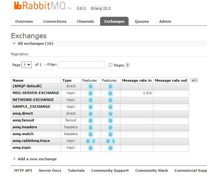 Exchanges in RabbitMQ