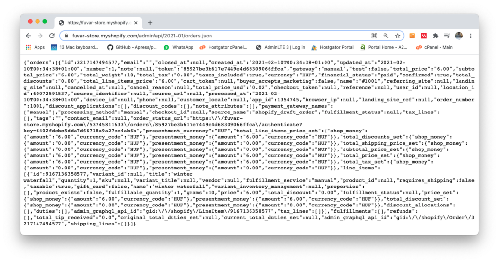 Problem of overfetching with REST APIs