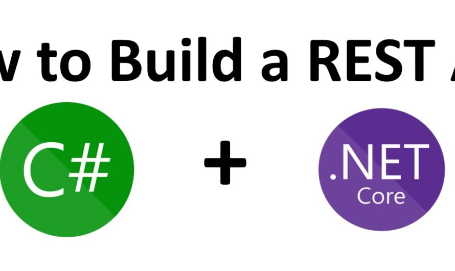 How to Create REST API in .Net Using C# and Visual Studio