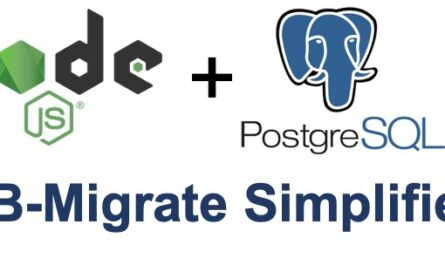 DB Migrate Simplified with Node.js and PostgreSQL Demo