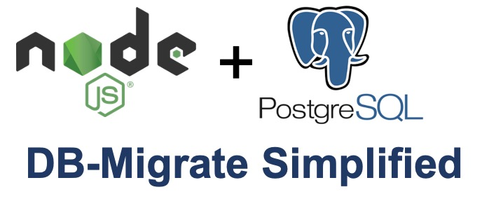 DB-Migrate Simplified – How to Generate PosgreSQL Database From Node.js